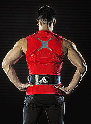 Adidas Leather Weightlifting Belt - Fitshop - 2