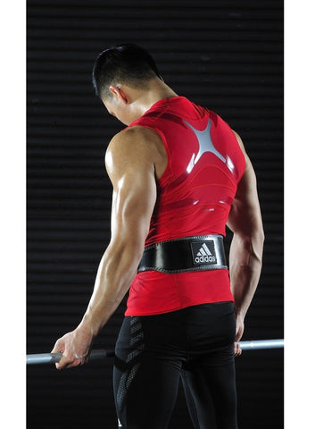 Adidas Leather Weightlifting Belt - Fitshop - 3