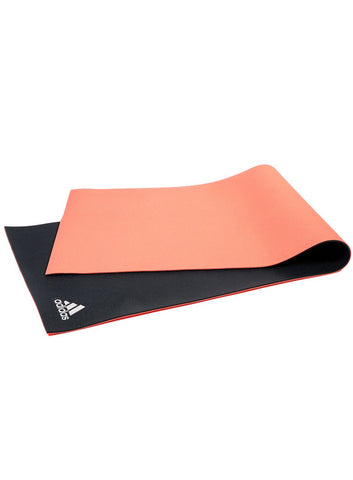 Adidas 6MM Double Sided Yoga Mat - Flash Red/Dark Grey - Fitshop - 1