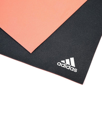 Adidas 6MM Double Sided Yoga Mat - Flash Red/Dark Grey - Fitshop - 2