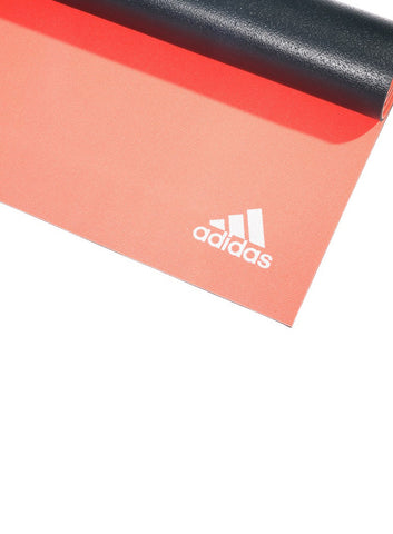Adidas 6MM Double Sided Yoga Mat - Flash Red/Dark Grey - Fitshop - 3
