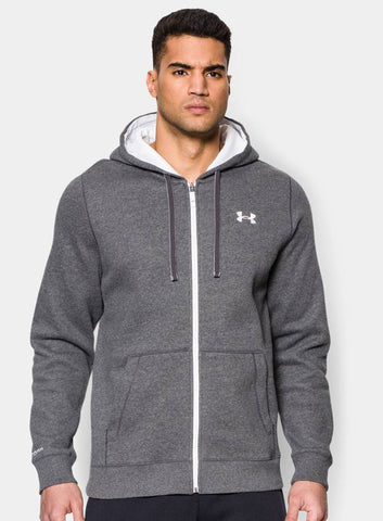 Under Armour Men's Storm Rival Full Zip Hoodie - Grey - Fitshop - 1
