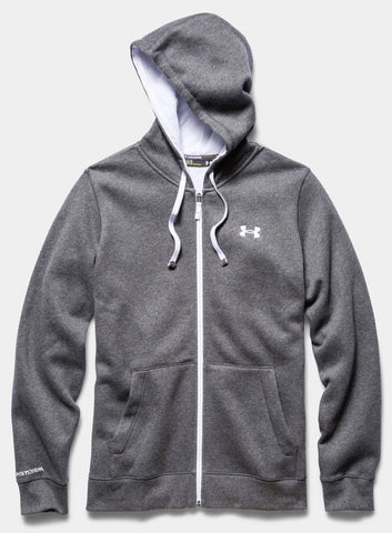 Under Armour Men's Storm Rival Full Zip Hoodie - Grey - Fitshop - 4