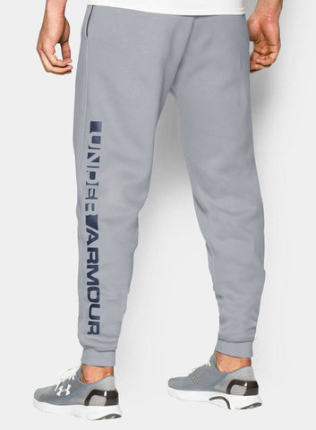 Under Armour Men's Storm Rival Graphic Trousers - Grey - Fitshop - 3