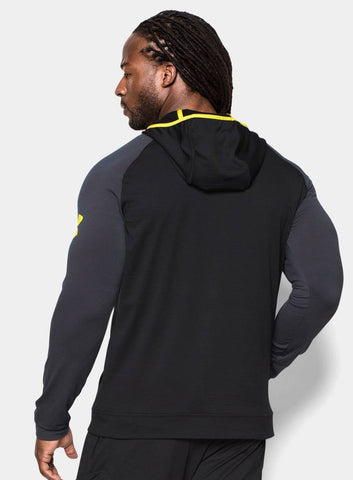 Under Armour Men's Combine® Training Slub Fleece ¼ Zip Hoodie - Black - Fitshop - 3