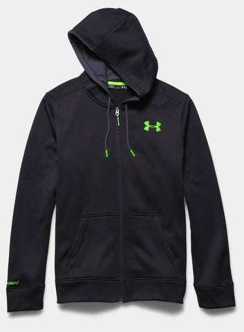 Under Armour Men's Storm Armour® Fleece Zip Hoodie - Black - Fitshop - 4