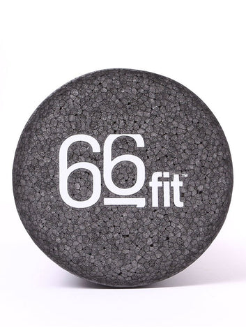 66fit EPP Massage Foam Roller - Black - 15cm x 45cm