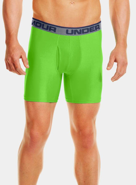 "Under Armour Original 6"" BoxerJock - Green - Fitshop - 1"