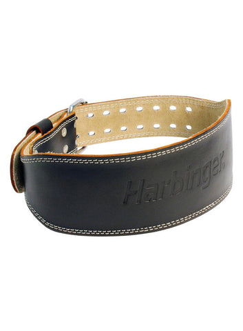 "Harbinger Leather Lifting Belt 4"" - Fitshop - 1"