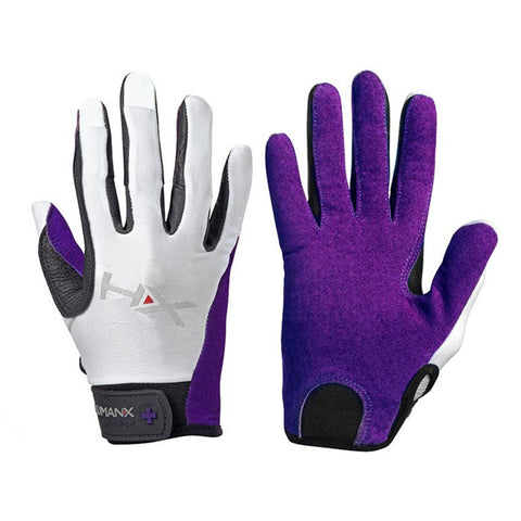 HumanX by Harbinger - Women's X3 Competition Full Finger Gloves Purple - Fitshop - 1