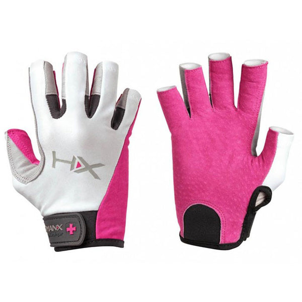 HumanX by Harbinger - Women's X3 Competition Open Finger Gloves Pink - Fitshop - 1