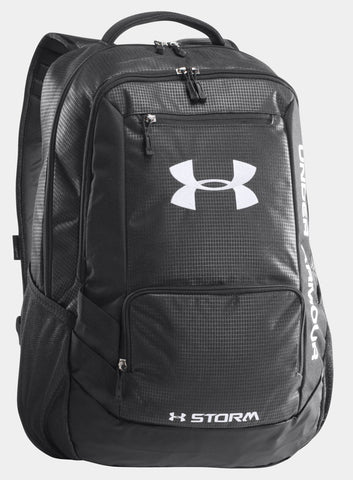 Under Armour Hustle Storm Backpack - Black - Fitshop - 1