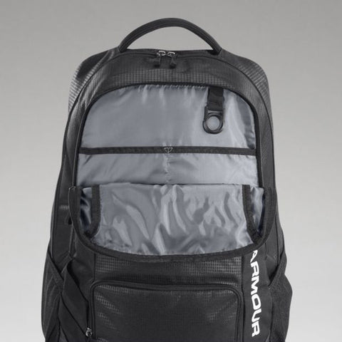 Under Armour Hustle Storm Backpack - Black - Fitshop - 3
