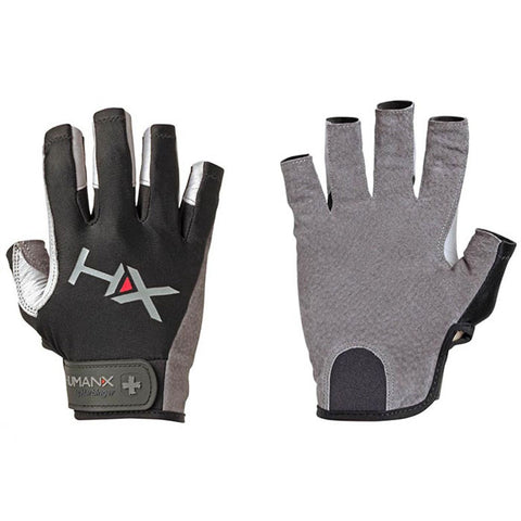HumanX by Harbinger - X3 Competition Open Finger Gloves Grey - Fitshop - 1
