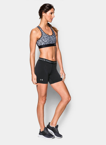 "Under Armour HeatGear® Armour 5"" Middy Women's Shorts - Black - Fitshop - 3"