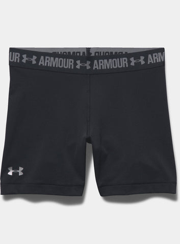 "Under Armour HeatGear® Armour 5"" Middy Women's Shorts - Black"
