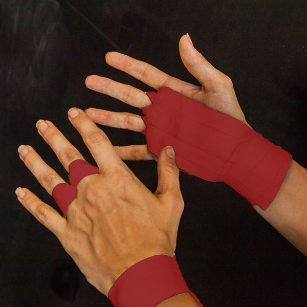 The Natural Grips - Red - Fitshop - 1