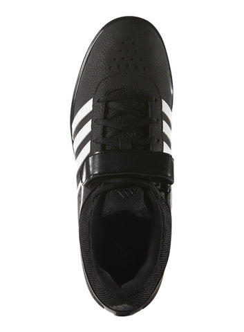 Adidas Men's PowerLift 2.0 Weightlifting Shoe - Core Black/Running White - Fitshop - 2