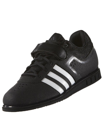 Adidas Men's PowerLift 2.0 Weightlifting Shoe - Core Black/Running White - Fitshop - 4