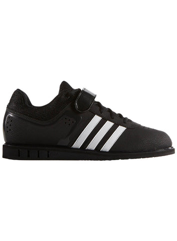 Adidas Men's PowerLift 2.0 Weightlifting Shoe - Core Black/Running White - Fitshop - 1