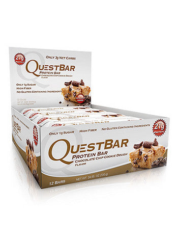 Quest Bar - Chocolate Chip Cookie Dough 60g - Fitshop - 1