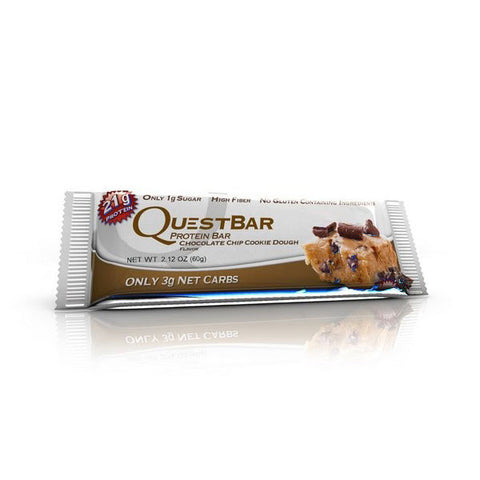 Quest Bar - Chocolate Chip Cookie Dough 60g - Fitshop - 2