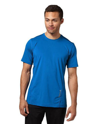 Reebok One Series Tech Training Shirt - Blue - Fitshop - 1
