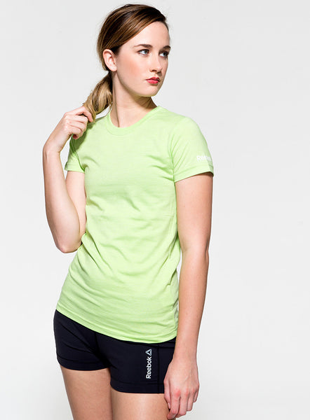Reebok CrossFit Green Heather T-Shirt - Fitshop - 1