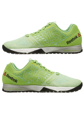 Reebok CrossFit Women's Nano 5.0 - Green/White/Grey - Fitshop - 7
