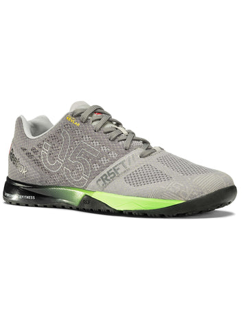 Reebok CrossFit Men's Nano 5.0 - Grey/Green/Black - Fitshop - 1