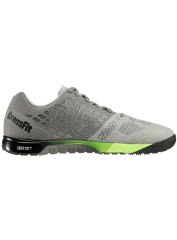 Reebok CrossFit Men's Nano 5.0 - Grey/Green/Black - Fitshop - 3