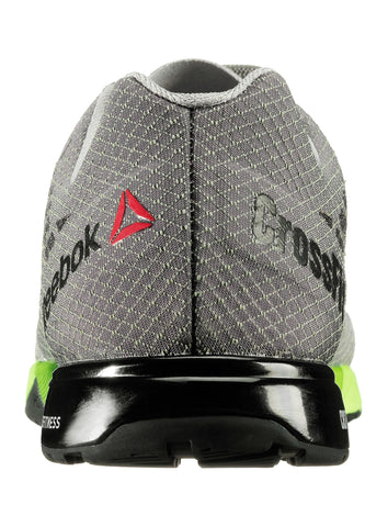 Reebok CrossFit Men's Nano 5.0 - Grey/Green/Black - Fitshop - 4