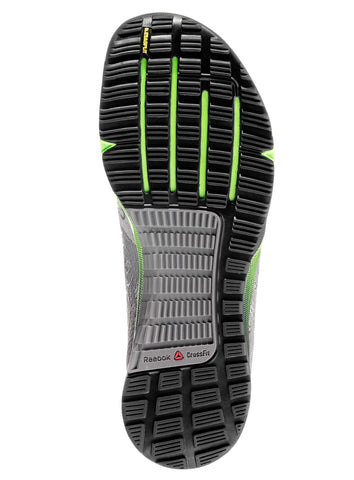 Reebok CrossFit Men's Nano 5.0 - Grey/Green/Black - Fitshop - 5