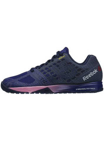Reebok CrossFit Women's Nano 5.0 - Night Beacon/Navy/Pink - Fitshop - 2