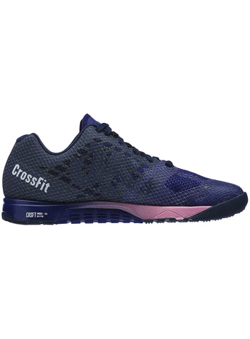 Reebok CrossFit Women's Nano 5.0 - Night Beacon/Navy/Pink - Fitshop - 3