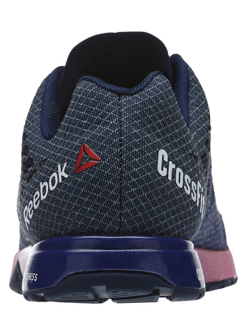 Reebok CrossFit Women's Nano 5.0 - Night Beacon/Navy/Pink - Fitshop - 4