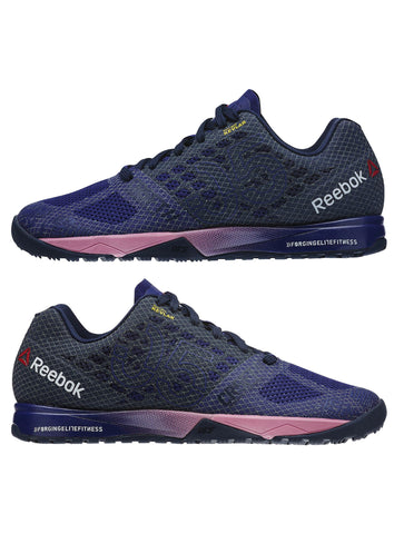 Reebok CrossFit Women's Nano 5.0 - Night Beacon/Navy/Pink - Fitshop - 7
