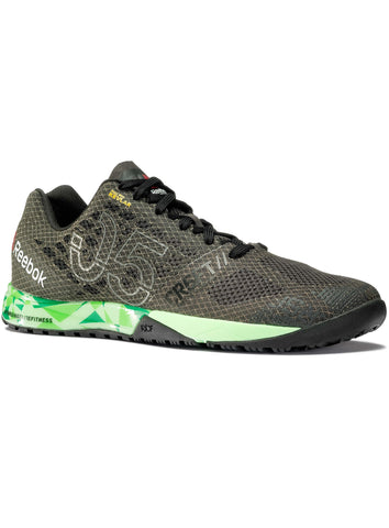 Reebok CrossFit Women's Nano 5.0 - Coal/Black/Green - Fitshop - 1