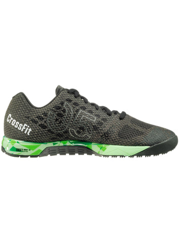 Reebok CrossFit Women's Nano 5.0 - Coal/Black/Green - Fitshop - 3