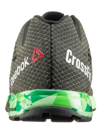 Reebok CrossFit Women's Nano 5.0 - Coal/Black/Green - Fitshop - 4