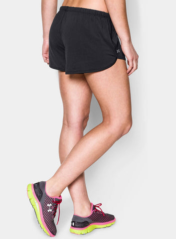 Under Armour Women's Alpha Mesh Relaxed Short - Black - Fitshop - 2