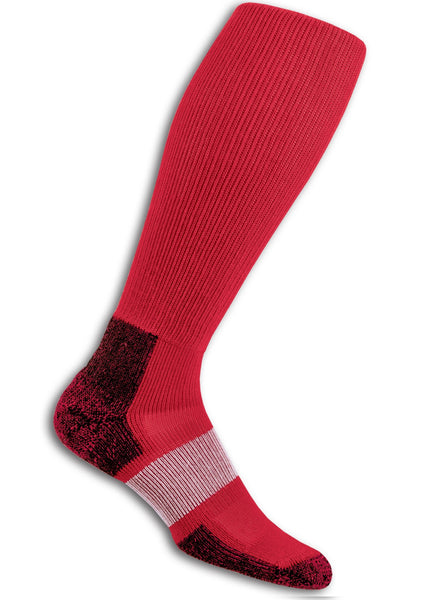 Thorlo Sports Unisex Over-Calf Socks - Varsity Red - Fitshop