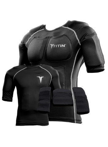 TitinTech Force System - Weighted Compression Shirt - Fitshop - 1