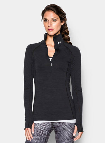 Under Armour ColdGear® Cozy ½ Zip - Black - Fitshop - 1