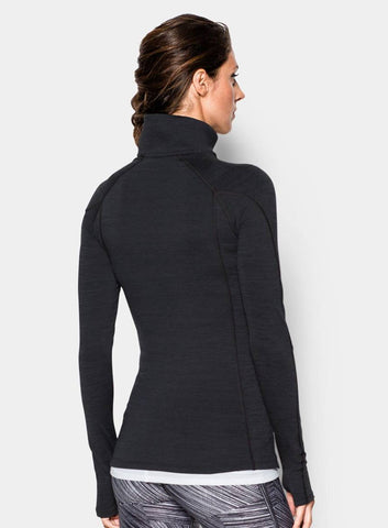 Under Armour ColdGear® Cozy ½ Zip - Black - Fitshop - 2