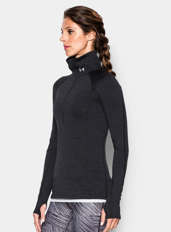 Under Armour ColdGear® Cozy ½ Zip - Black - Fitshop - 4