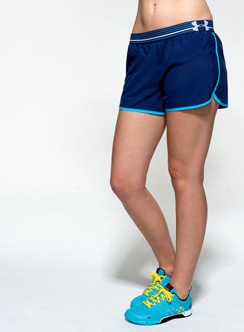 Under Armour Women's UA Perfect Pace Short - Ink - Fitshop - 2