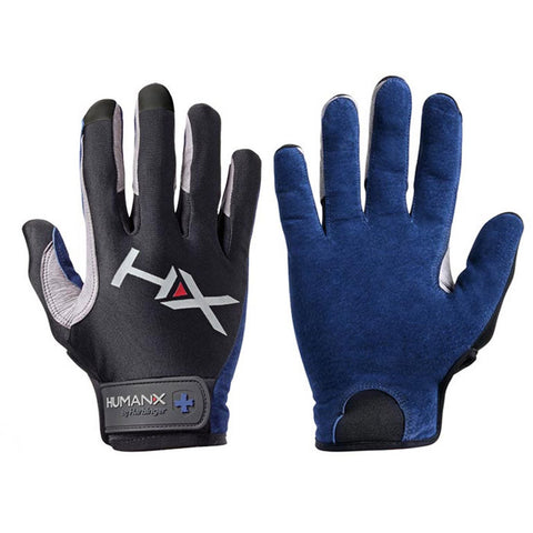 HumanX by Harbinger - X3 Competition Full Finger Gloves Blue - Fitshop - 1