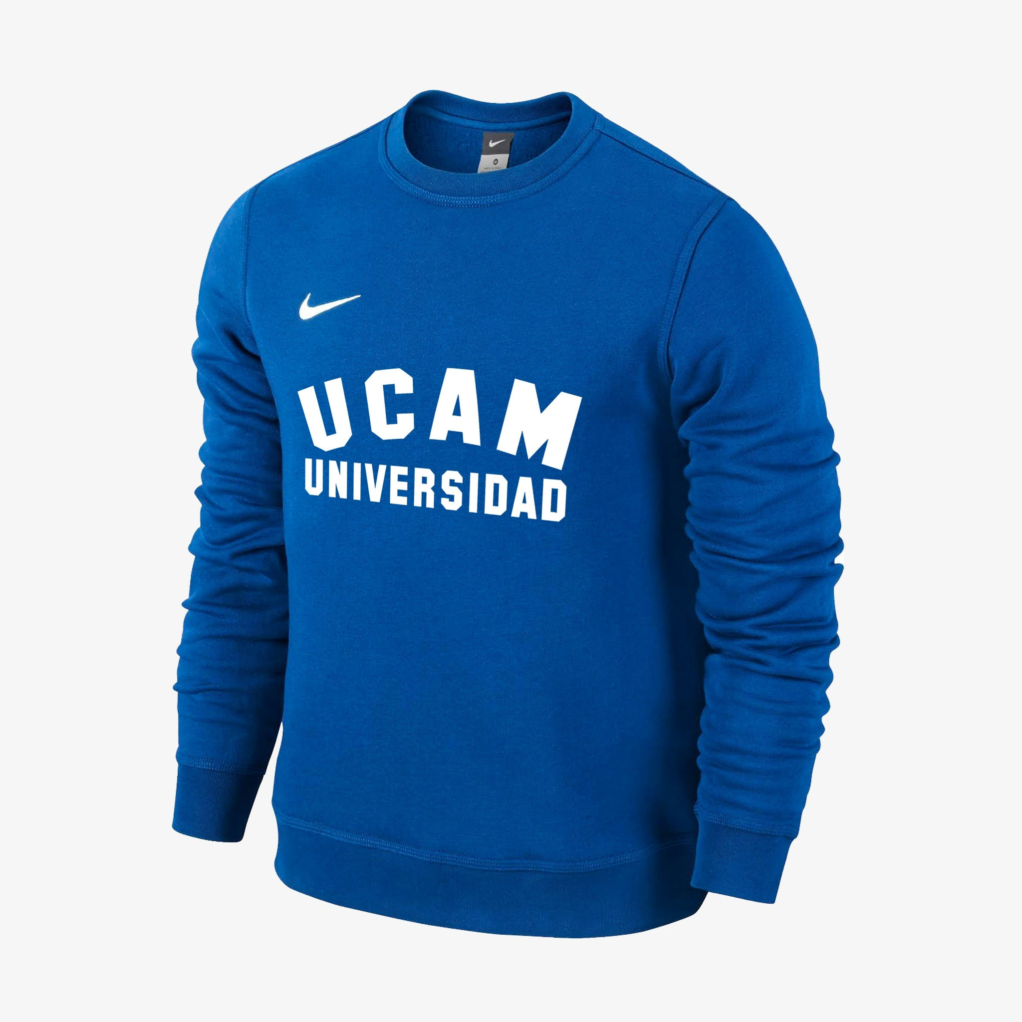 Sudadera Nike Crew Royal Universidad