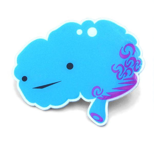 Brain Lapel Pin - All You Need Is Lobe - Front & Company: Gift Store